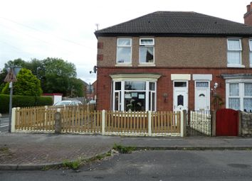 Thumbnail 3 bed semi-detached house for sale in Queen Street, Church Gresley, Swadlincote