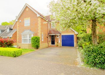 Thumbnail 4 bed detached house for sale in Wilstrode Avenue, Binfield, Bracknell