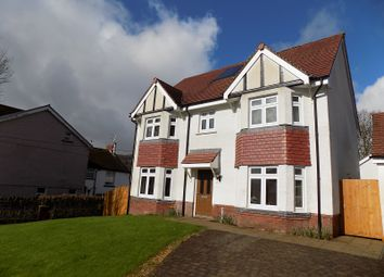 Thumbnail 4 bedroom detached house for sale in Glyncoli Road, Treorchy, Rhondda, Cynon, Taff.
