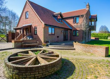 Thumbnail 4 bedroom farmhouse for sale in Fakenham Road, Great Witchingham, Norwich