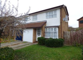 Thumbnail 3 bedroom semi-detached house for sale in Shedfield Way, East Hunsbury, Northampton, Northamptonshire