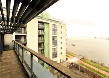 Thumbnail 1 bed flat to rent in Breakwater House, Prospect Place, Cardiff