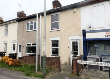 Thumbnail 2 bedroom terraced house for sale in Cheney Manor Road, Swindon