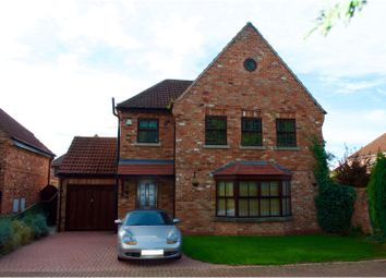 Thumbnail 5 bed detached house for sale in Burrells Close, Haxey, Doncaster