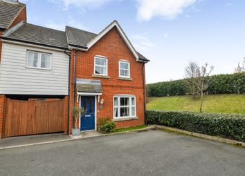 Thumbnail 3 bed end terrace house for sale in Orchid Court, Kingsnorth, Ashford