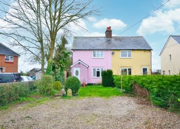 Thumbnail 3 bed semi-detached house for sale in High Cross Lane, Little Canfield, Dunmow, Essex