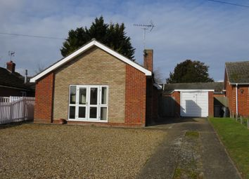 Thumbnail 2 bed detached bungalow for sale in Falcon Road, Feltwell, Thetford