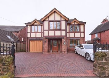 Thumbnail 5 bed detached house for sale in Leek Road, Wetley Rocks, Stoke-On-Trent
