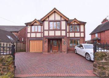 Thumbnail 5 bedroom detached house for sale in Leek Road, Wetley Rocks, Stoke-On-Trent