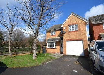 Thumbnail 4 bed detached house for sale in Hind Close, Cardiff