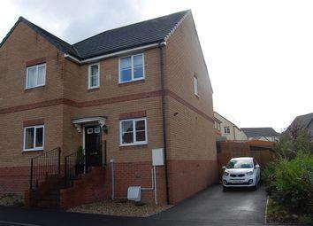 Thumbnail 2 bed semi-detached house for sale in Ffordd Y Glowyr, Betws, Ammanford