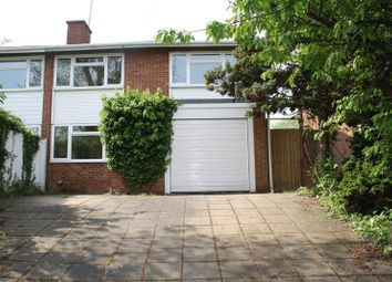 Thumbnail 3 bed semi-detached house to rent in Colemans Moor Road, Woodley, Reading