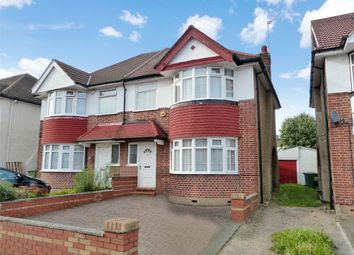 Thumbnail 3 bed semi-detached house for sale in Brampton Grove, Harrow, Middlesex