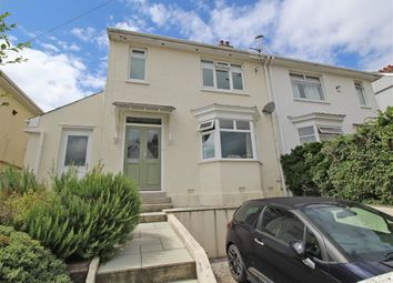 Thumbnail 3 bed terraced house for sale in Briar Road, Hartley, Plymouth