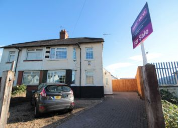Thumbnail 3 bed semi-detached house for sale in Pengam Road, Tremorfa