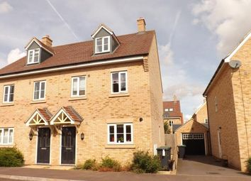 Thumbnail 3 bed semi-detached house for sale in Torquay Close, Biggleswade, Bedfordshire