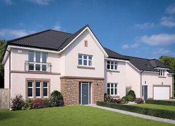 "Thumbnail 5 bed detached house for sale in ""The Macrae"" at Davidston Place, Lenzie, Kirkintilloch, Glasgow"