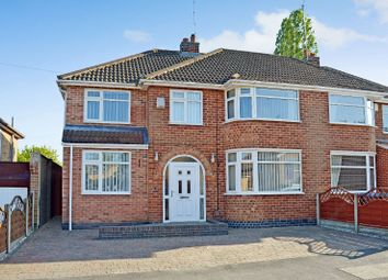 Thumbnail 5 bed semi-detached house for sale in Pulford Drive, Scraptoft, Leicester