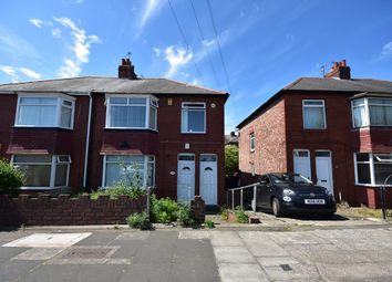 Thumbnail 3 bed flat for sale in Benfield Road, Newcastle Upon Tyne