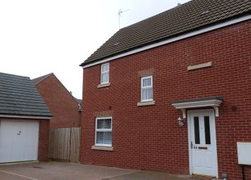 Thumbnail 3 bed detached house to rent in Boddington Drive, Kingsway, Gloucester