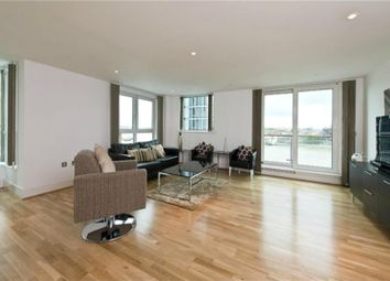 Thumbnail 3 bed flat for sale in Kestrel House, 2 St George Wharf