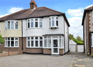 Thumbnail 3 bed semi-detached house for sale in Wordsworth Drive, Cheam, Sutton