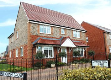 Thumbnail 4 bed detached house for sale in Swanbourne Park, Angmering, West Sussex