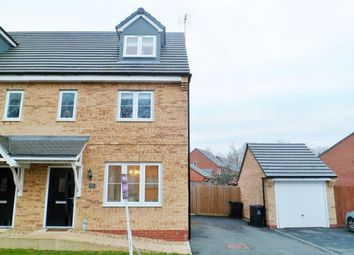 Thumbnail 3 bed semi-detached house for sale in Whitehead Drive, Wrexham