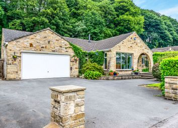 Thumbnail 4 bed detached bungalow for sale in Binns Lane, Holmfirth