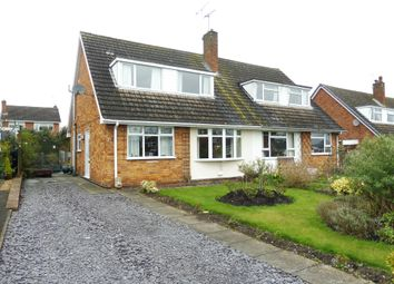 Thumbnail 3 bed semi-detached bungalow for sale in Meadow Drive, Haughton, Stafford