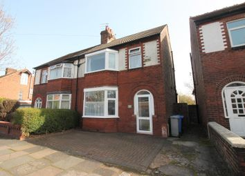 Thumbnail 3 bed semi-detached house for sale in Greenfield Avenue, Urmston, Manchester