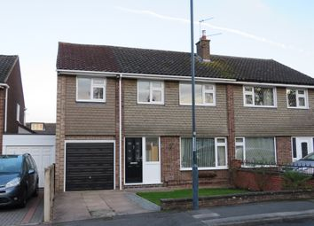 Thumbnail 4 bed semi-detached house for sale in Hoylake Drive, Mickleover, Derby