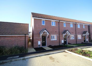 Thumbnail 2 bed end terrace house to rent in Holloway Close, St Andrews Ridge, Swindon