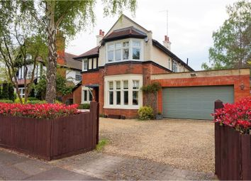 Thumbnail 4 bed detached house for sale in Westwood Park Road, Peterborough