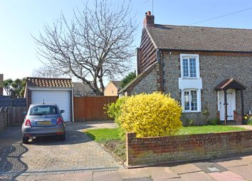 Thumbnail 2 bed cottage to rent in Castle Road, Worthing