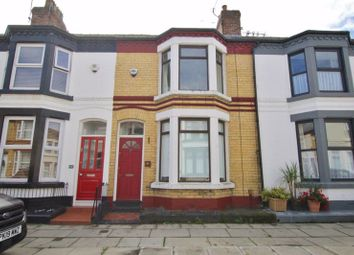 Thumbnail 2 bed terraced house for sale in Alverstone Road, Mossley Hill, Liverpool