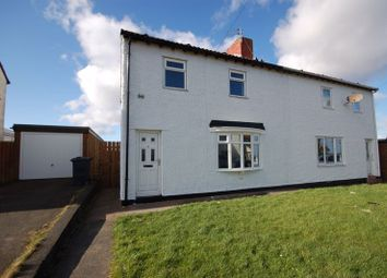Thumbnail 3 bed semi-detached house for sale in Killingworth Avenue, Backworth, Newcastle Upon Tyne