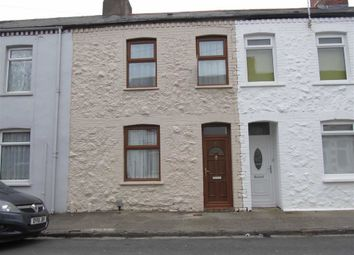 Thumbnail 3 bed terraced house to rent in Davies Street, Barry, Vale Of Glamorgan