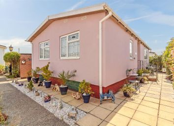 Thumbnail 2 bed mobile/park home for sale in Kings Park, Creek Road, Canvey Island