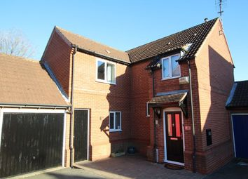 Thumbnail 4 bed detached house for sale in Broad Meadow, Wigston