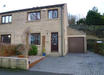 Thumbnail 3 bed semi-detached house for sale in Lane Top, Linthwaite, Huddersfield