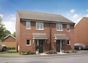"Thumbnail 2 bed semi-detached house for sale in ""The Belford - Plot 102"" at Merlin Way, Bowerhill, Melksham"