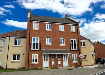 Thumbnail 4 bed terraced house for sale in Birkbeck Chase, West Wick, Weston-Super-Mare