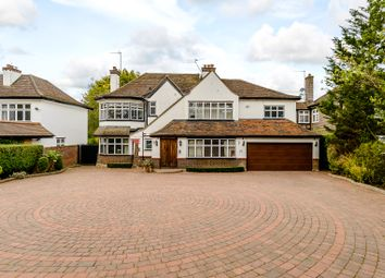 Thumbnail 5 bed detached house for sale in Great North Road, Brookmans Park, Hatfield