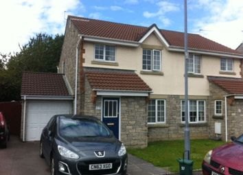 Thumbnail 3 bed semi-detached house for sale in Caer Worgan, Llantwit Major