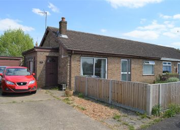 Thumbnail 2 bed semi-detached bungalow for sale in The Saltings, Terrington St. Clement, King's Lynn
