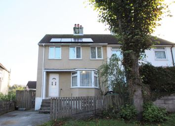 Thumbnail 3 bedroom semi-detached house for sale in North Down Crescent, Keyham, Plymouth