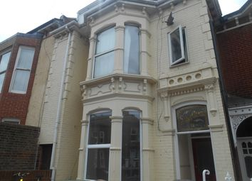 Thumbnail 4 bed flat to rent in Lawrence Road, Southsea