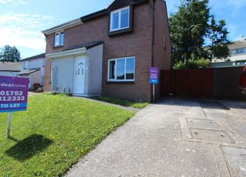 Thumbnail 3 bedroom semi-detached house to rent in Cedar Drive, Torpoint