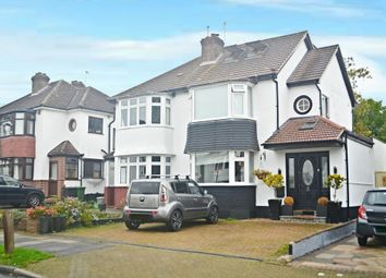 Thumbnail 3 bed semi-detached house for sale in Crescent Drive, Petts Wood, Orpington